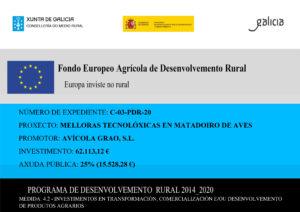 Fondo Europeo Agrícola Avigrao Xunta de Galicia